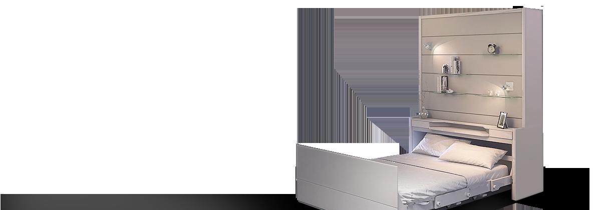 Le mobilier gain de place fran ois desile for Meuble tv transparent conforama