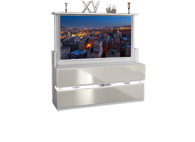 Le mobilier gain de place fran ois desile for Meuble tv grand ecran
