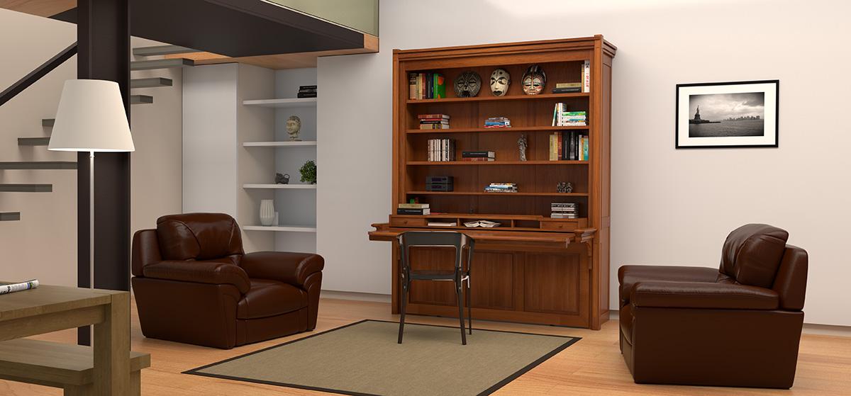 elegant mobilier gain de place with mobilier gain de place. Black Bedroom Furniture Sets. Home Design Ideas